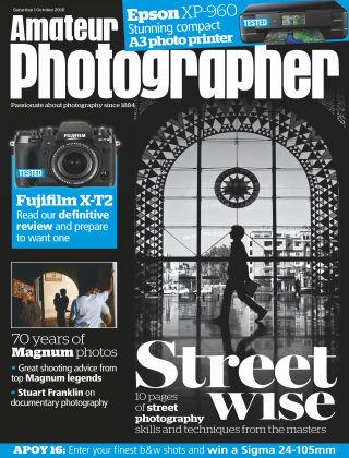 Amateur Photographer 1st October 2016