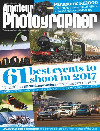 Amateur Photographer 31st December 2016