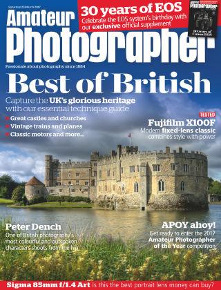 Amateur Photographer 25th March 2017