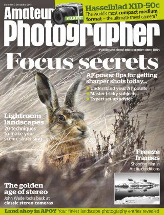 Amateur Photographer 9th December 2017