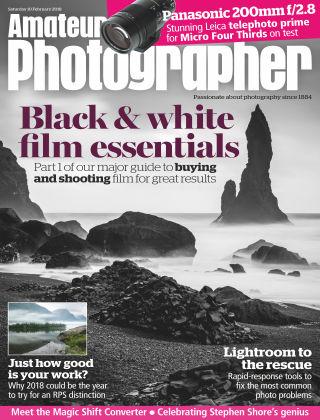Amateur Photographer 10th February 2018