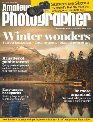 Amateur Photographer Jan 26 2019
