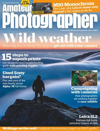 Amateur Photographer Jan 25 2020
