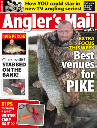 Angler's Mail 14th January 2014