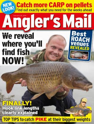 Angler's Mail 25 February 2014