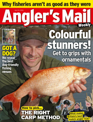 Angler's Mail 8th April 2014