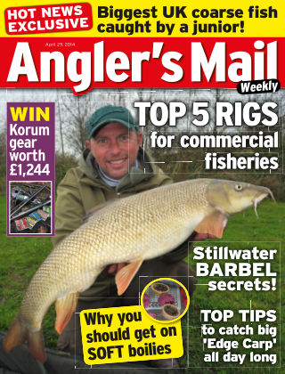 Angler's Mail April 29th 2014