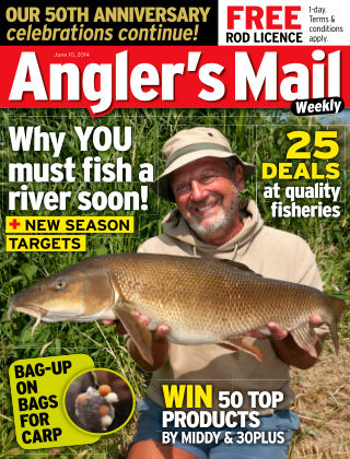 Angler's Mail 10th June 2014