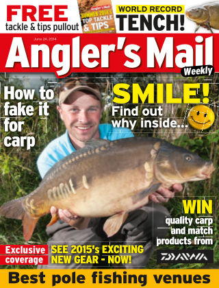 Angler's Mail 24th June 2014