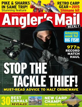 Angler's Mail 16th September 2014