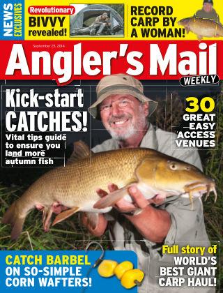 Angler's Mail 23rd September 2014
