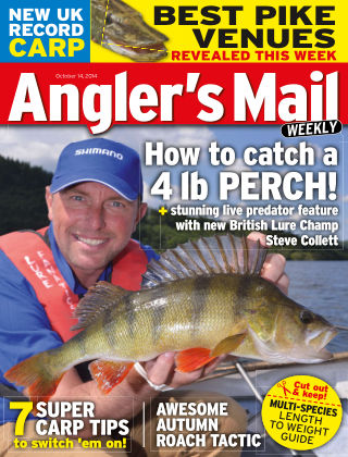 Angler's Mail 14th October 2014