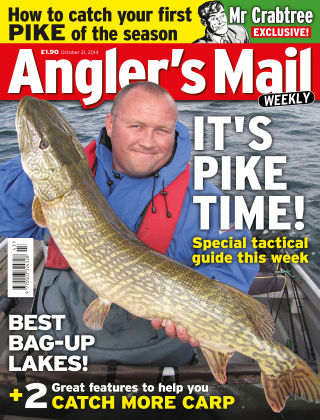 Angler's Mail 21st October 2014