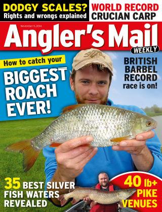Angler's Mail 11th November 2014