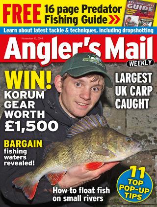 Angler's Mail 18th November 2014