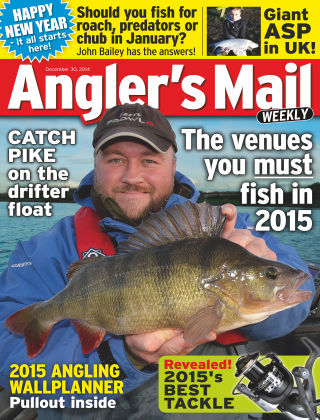 Angler's Mail 30th December 2014