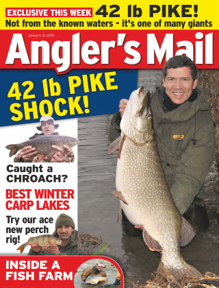 Angler's Mail 13th January 2015