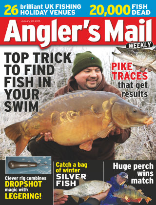 Angler's Mail 20th January 2015