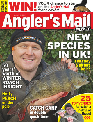 Angler's Mail 27th January 2015