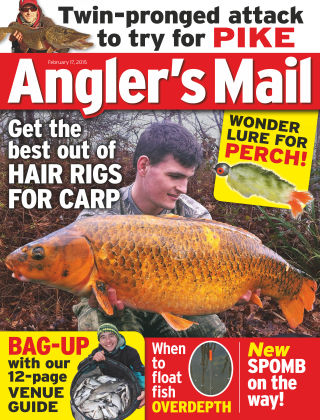 Angler's Mail 17th February 2015