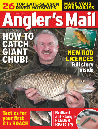 Angler's Mail 3rd March 2015