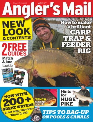 Angler's Mail 17th March 2015