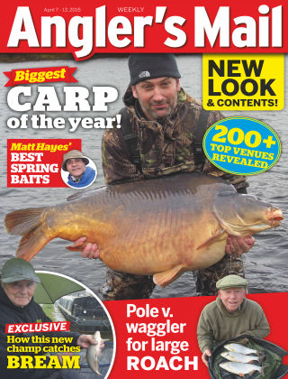 Angler's Mail 7th April 2015