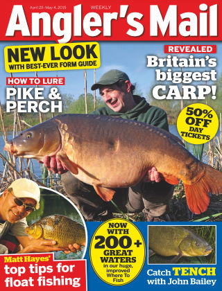 Angler's Mail 28th April 2015