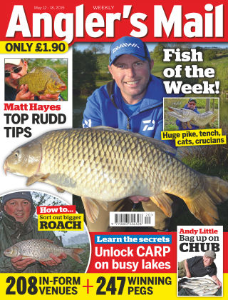Angler's Mail 12th May 2015