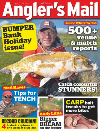 Angler's Mail 19th May 2015