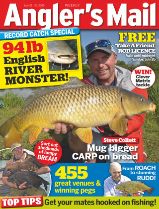Angler's Mail 21st July 2015