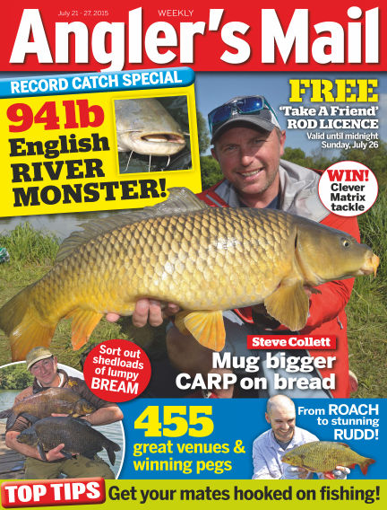 Angler's Mail July 28, 2015 00:00
