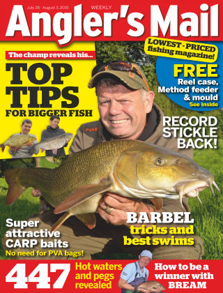 Angler's Mail 28th July 2015