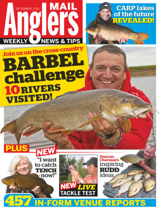 Angler's Mail 1st September 2015