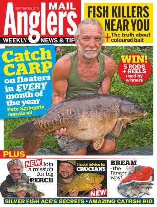 Angler's Mail 8th September 2015