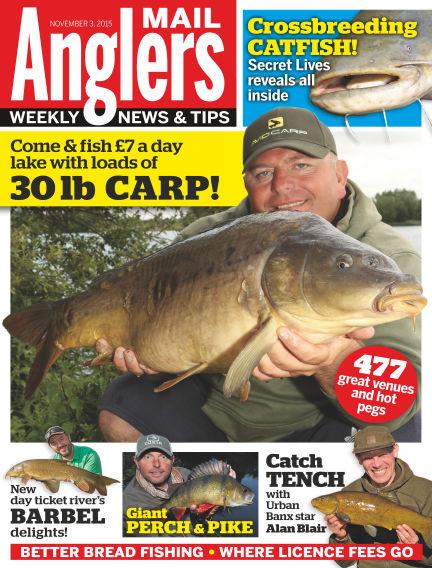 Angler's Mail November 10, 2015 00:00