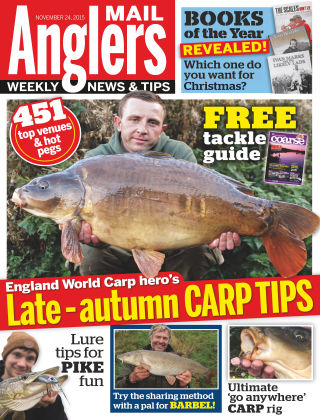 Angler's Mail 24th November 2015