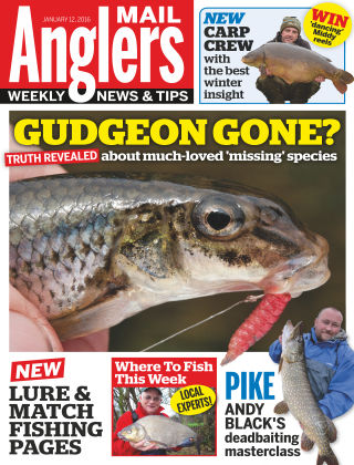 Angler's Mail 12th January 2016