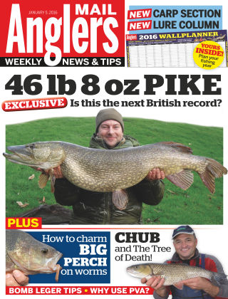 Angler's Mail 5th January 2016