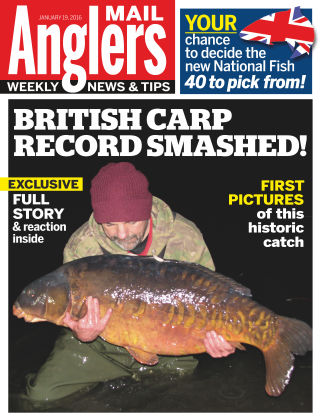 Angler's Mail 19th January 2016