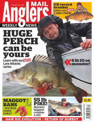 Angler's Mail 26th January 2016