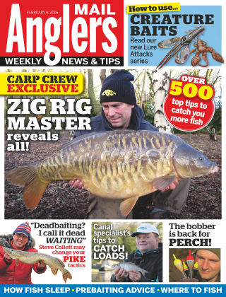 Angler's Mail 9th February 2016