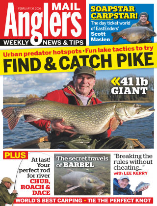 Angler's Mail 16th February 2016