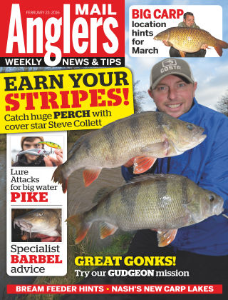Angler's Mail 23rd February 2016