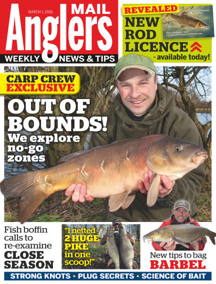 Angler's Mail March 08, 2016 00:00