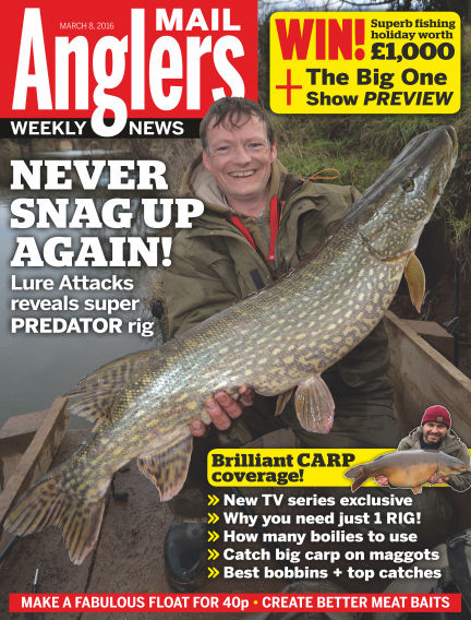 Angler's Mail March 15, 2016 00:00