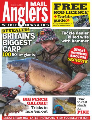 Angler's Mail 15th March 2016