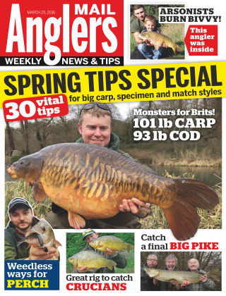 Angler's Mail 29th March 2016