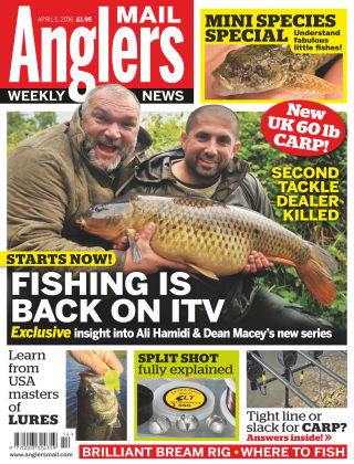 Angler's Mail 5th April 2016