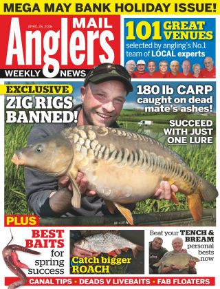 Angler's Mail 26th April 2016